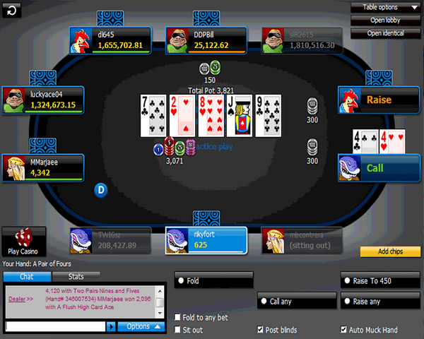 888 Poker Online Help Chat