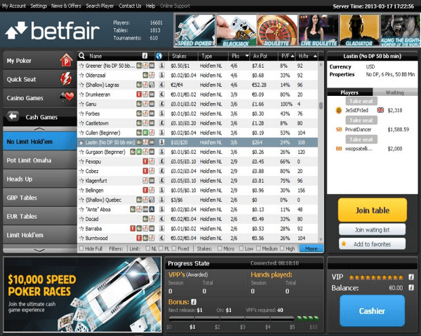 betfair main site