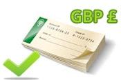 Deposit In GBP